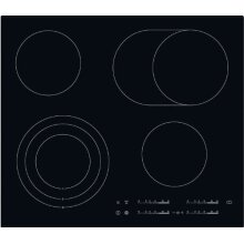 Aeg hk654070ib Hob–Plate (Built-in, Electric, Ceramic, Electronic, Sensor, 1.6m) Black