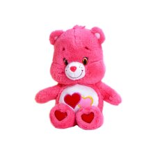 "Care Bears Series 6 Love-A-Lot Bear 10.5"" Plush Toy"