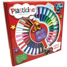 Plasticine PTL05000 Colour Wheel, Arts and Crafts, Clay and Dough, Modelling Clay, for Kids Aged 3 and Up