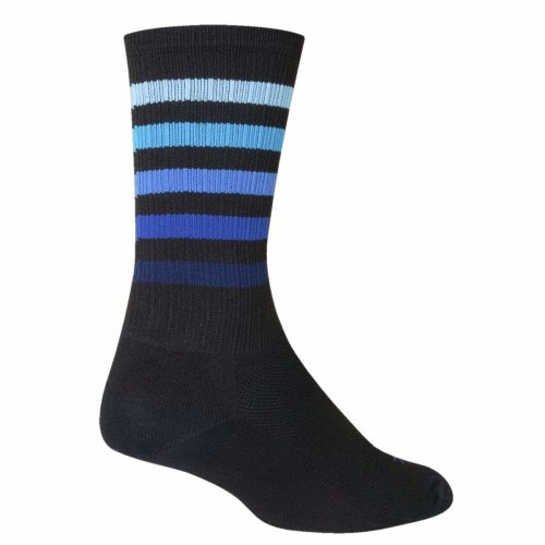 "Socks - Sockguy - 6"" SGX Deep L/XL Cycling/Running"