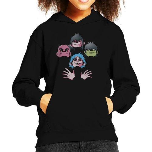 Feelin Good Rhapsody Gorillaz Queen Bohemian Kid's Hooded Sweatshirt