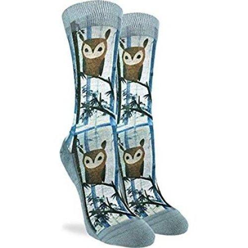 Socks - Good Luck Sock - Women's Active Fit - Owl (5-9) 5101