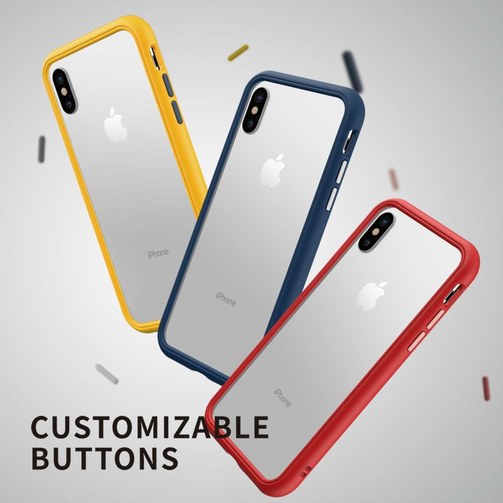 RhinoShield Bumper Case for iPhone 11 Pro Max CrashGuard NX Shock Absorbent Slim Design Protective Cover 3.5M//11ft Drop Protection Yellow