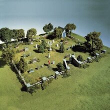 Woodland Scenics HO Maple Leaf Cemetery WOOS131