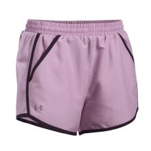 Under Armour Fly By Womens Ladies Exercise Fitness Training Short Purple