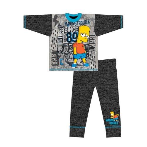 (5-6 Years) Kids Boys Character Bart Simpsons Pyjamas Pjs