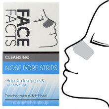 Pack of 3 Face Facts Deep Cleansing Nose Pore Strips ~ Cleansing