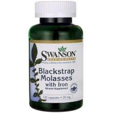 Swanson  Blackstrap Molasses with Iron, 29mg - 120 caps