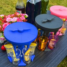 6 Shot Glass Dispenser Holder Drinking Games Party