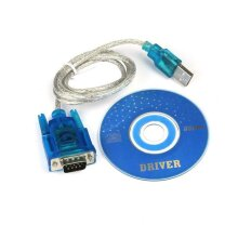 USB to RS232 DB9 Serial COM Port Cable Converter Adapter