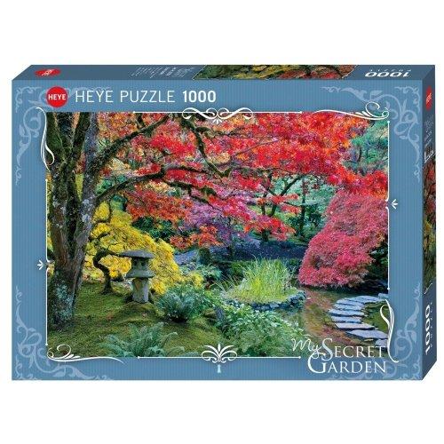 Hy29754 - Heye Puzzles - 1000 Pc - Stone Lantern