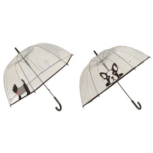 X-brella Womens/Ladies Clear Dog Umbrella
