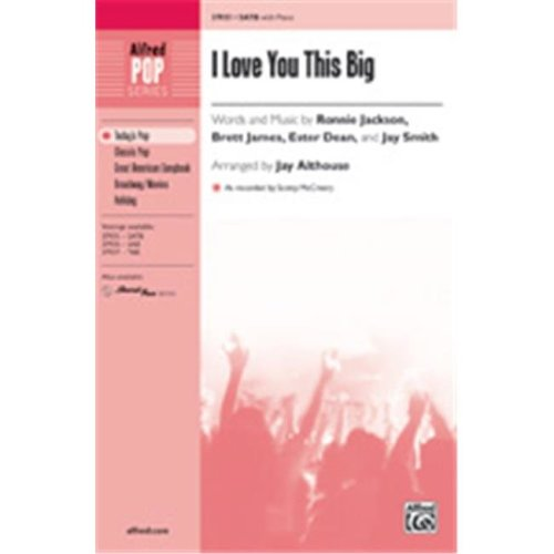 Alfred 00-37938 I LOVE YOU THIS BIG-STRX CD