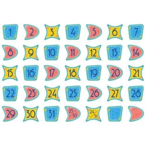 Midcentury Modern Calendar Days