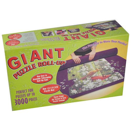 Giant Jumbo Jigsaw Roll Up Puzzle Store Storage Mat Tube