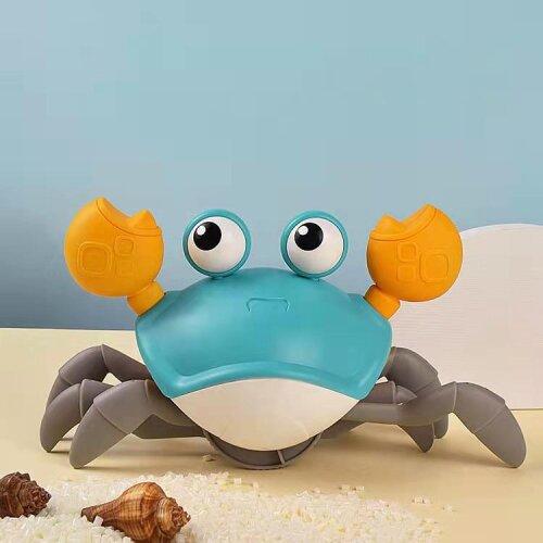 (Blue Crab) Children Octopus Clockwork Toy