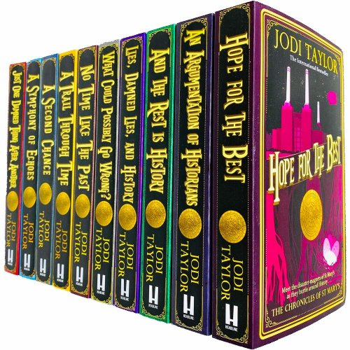 Jodi Taylor 10 Books Collection Set Chronicles of St. Mary's Series