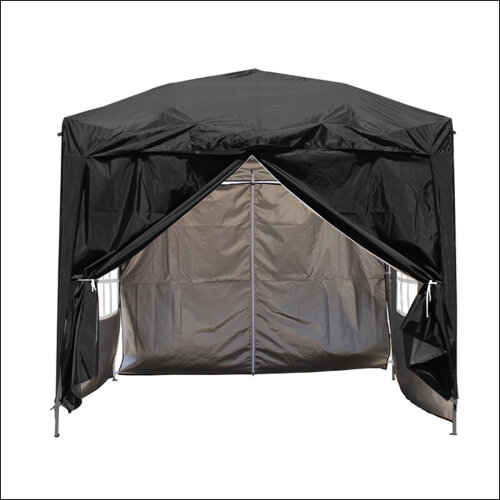 3 x 3mGarden Pop Up Gazebo Marquee Patio Canopy Wedding Party Tent- Black
