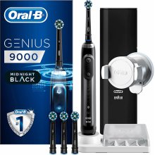 Oral-B Genius 9000 CrossAction Electric Toothbrush Midnight Black