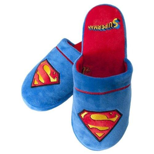 DC Comics Superman Classic Adult Mule Slippers