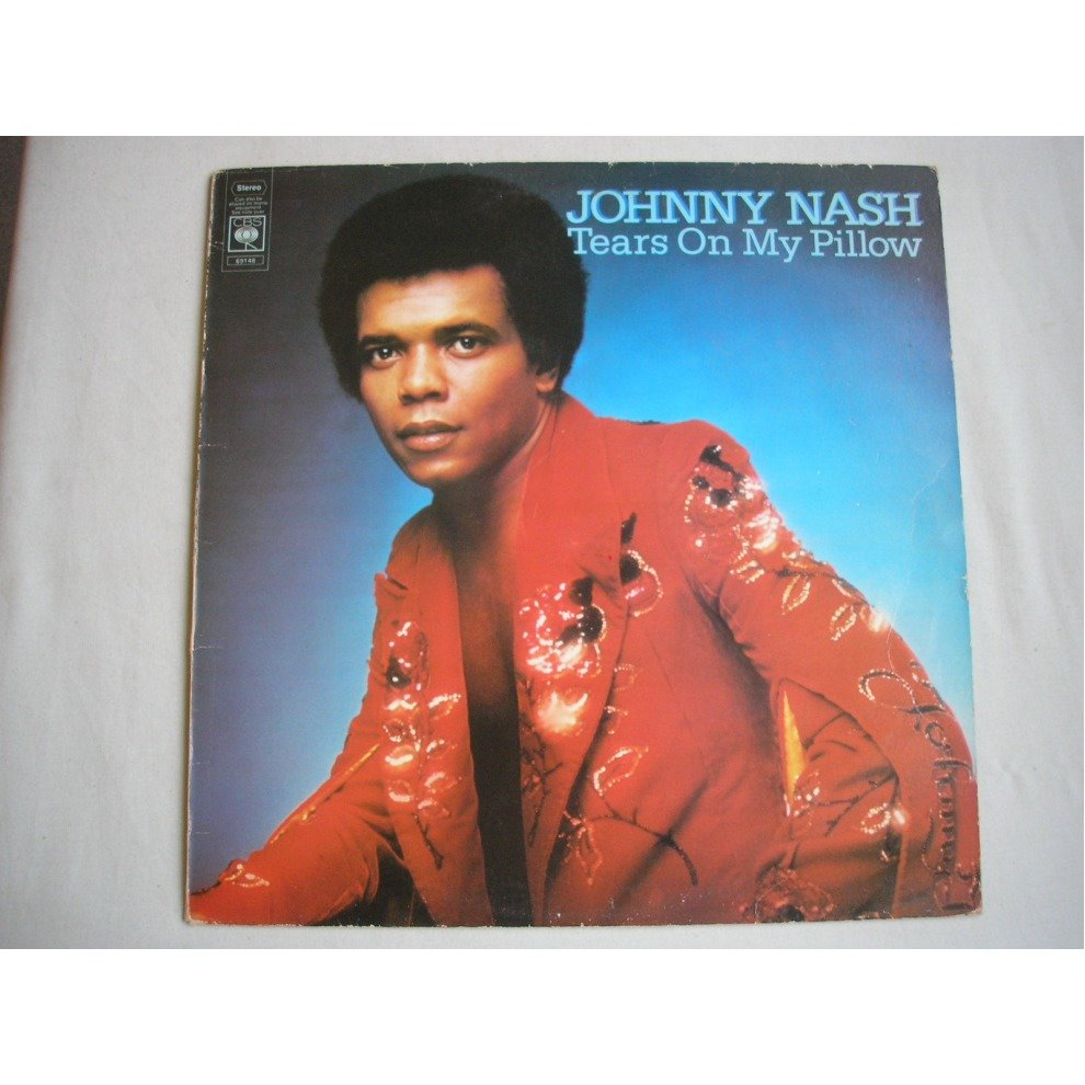 Johnny Nash Tears On My Pillow (LP