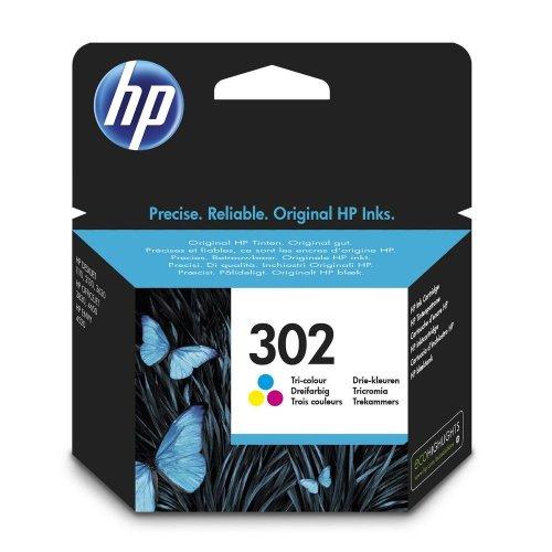 HP 302 Ink Cartridge Tri-colour F6U65AE - 4ml | Colour Ink Cartridge