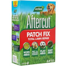 Aftercut Grass Patch Fix, Total Lawn Repair, Worn/Shady Areas, 4.8kg, 64 Patches