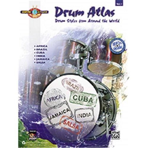 Alfred 00-33496 DRUM ATLAS COMPLETE V.1-BK&MP3CD