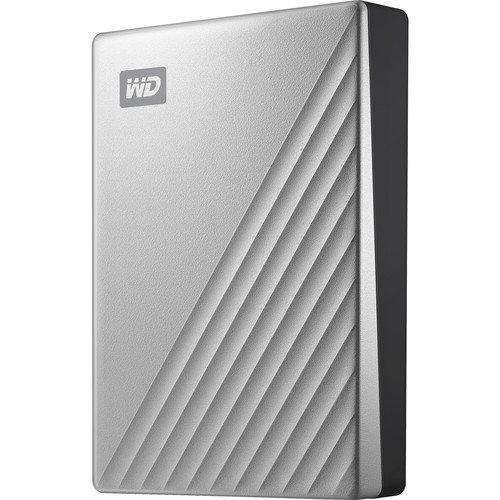 WD 4TB My Passport Ultra USB 3.0 Type-C WDBFTM0040BSL-WESN B&H