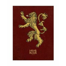 Game of Thrones Lannister Poster