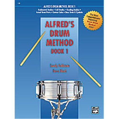 Alfred 00-21456 ALFREDS DRUM METHOD 1-BK&DVD plus CASE