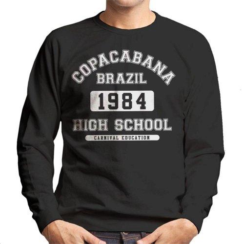 Copacabana High School Brazil Men's Sweatshirt