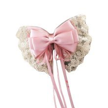 Handmade Hair Barrette Hair Pin Large Bowknot French Barrette Hair Clip Ribbon