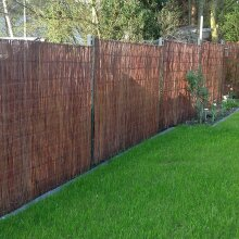 4M Willow Natural Garden Fence Screening Roll