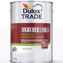 Dulux Trade Weathershield Smooth Masonry Buttermilk 5 Litres
