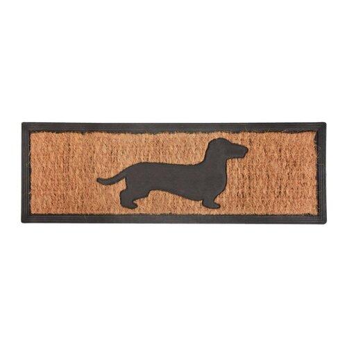 Dog - Rubber & Coir Doormat