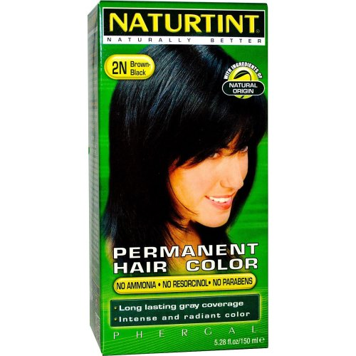 Naturtint Permanent Hair Colourant | Brown/Black 2N 165ml