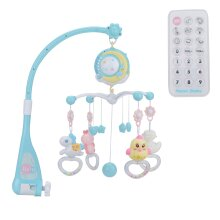 Baby Mobile Bed Bell Toy Kids Crib Musical Music Box Baby Rattles Toy