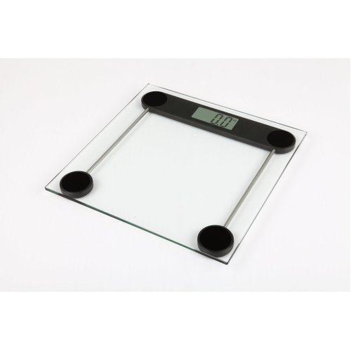 Kabalo 180kg Modern Glass Household Bathroom Scales - Premier Electronic Digital Personal Scale with Large LCD Screen