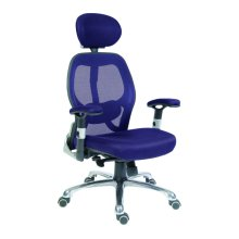 TEKNIK OA1013BL Cobham Reclining Executive Chair - Blue, Blue