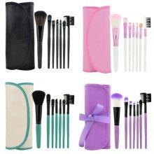 LaRoc 7 Piece Makeup Brush Cosmetic Set Kit Eyeshadow Foundation Powder Blush