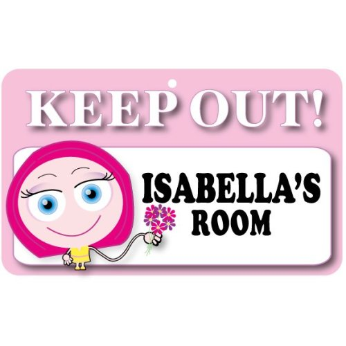 Keep Out Door Sign - Isabella's Room