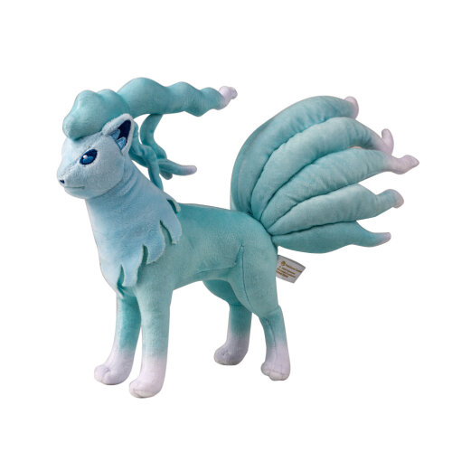Anime Blue Ninetales Plush Soft Plush Stuffed Toy