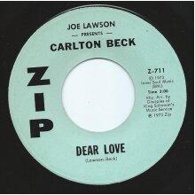 Dear Love - Joe Lawson,Carlton Beck - vinyl - Used