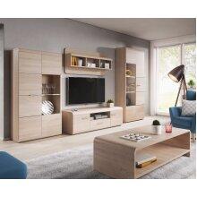 Link Oak Sonoma Living Room Furniture Set With Coffe Table SET No 2