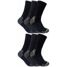Mens Cotton Ultimate Work Socks for Steel Toe Boots