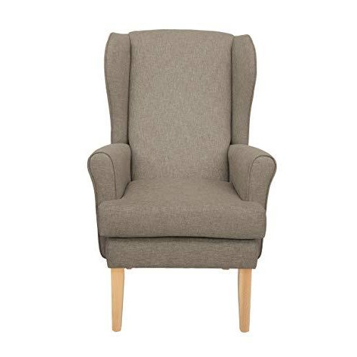 MAWCARE Highland Orthopaedic High Seat Chair - 21 x 21 Inches [Height x Width] in High Mushroom (lc21-Highland_h)
