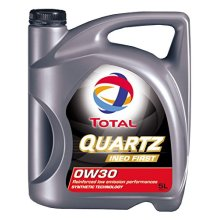 Total Quartz Ineo First 0W-30Fully Synthetic Low SAPS Car Engine Oil, 5Litre