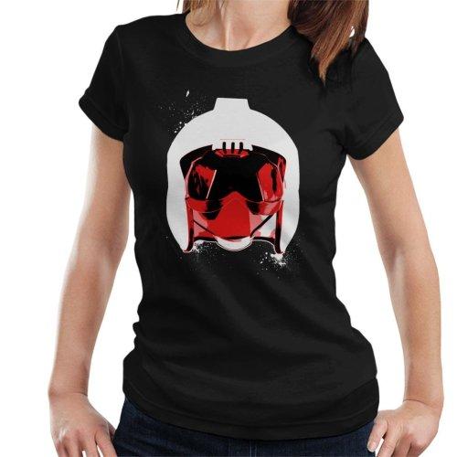 Original Stormtrooper Rebel Pilot Helmet White Paint Splatter Women's T-Shirt