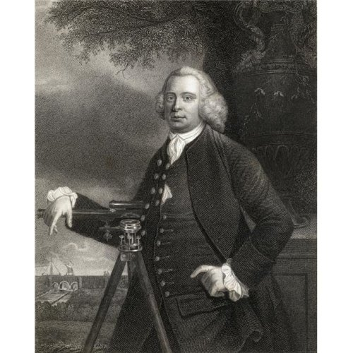 James Brindley 1716-1772 English Pioneer Canal Builder From The Book Gallery of Portraits Published London 1833 Poster Print, Large - 26 x 34
